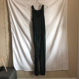 Gap Green Linen Jump Suit